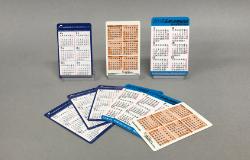 ポケットカレンダー印刷