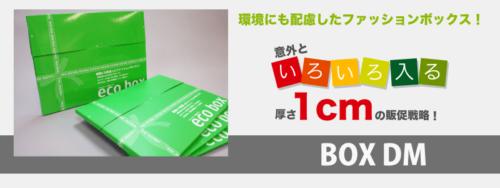 箱のDM BOXDM